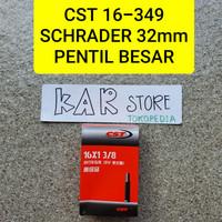 CST 16 349 BAN DALAM 16 X 1 3/8 SCHRADER 32mm (BESAR)