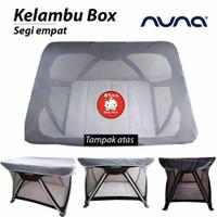 KELAMBU box PLAY YARD bayi nuna pliko baby does sarung nyamuk praktis - PO-Standart