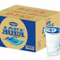 Aqua gelas 200 ml 1 Dus isi 48 pcs