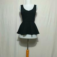 atasan blouse wanita korean style import thrift merk forever 21