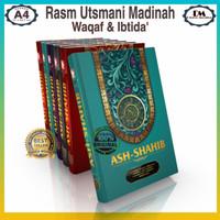 Al Quran Ash Shahib Rasm Utsmani Terjemahan Waqaf dan Ibtida A4