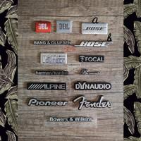 Emblem Speaker JBL Bose Focal Dynaudio Pioneer Harman/Kardon Fender