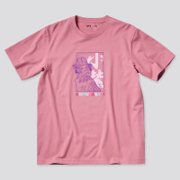 UNIQLO UT Anime T-shirt One Piece Kaos Lengan Pendek - Pink Komurasaki