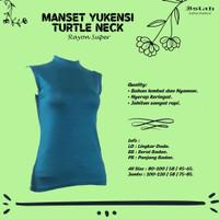 Baju Manset Tanpa Lengan Dalaman Wanita Rayon Super Premium
