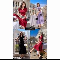 fshty-MILEA VINTAGE DRESS - lilac