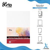 Arto A4 Watercolour Paper Sheets - CELLULOSE 200g