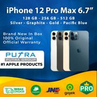 (IBOX) iPhone 12 Pro Max 128GB 256GB 512GB Garansi Resmi 128 256 512