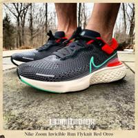 Sepatu Original Nike Zoom Invicible Run Flyknit Red Oreo BNIB