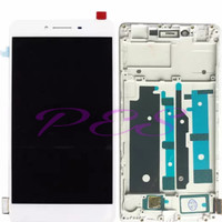 LCD TOUCHSCREEN OPPO R7S + FRAME - ORI COMPLETE