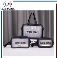 Tas Kosmetik Toiletry Bag Anti Air Washbag Toiletries Waterproof