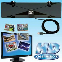 Antena TV Digital HD Clear Vision / Nonton TV Layar Jernih - HPR124