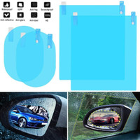 AntiFog Embun Besar Kaca Spion & Jendela Mobil Sticker Anti Fog Hujan