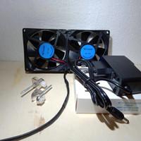 cooling fan kipas pendingin aquascape aquarium+adaptor a
