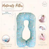 Bantal Ibu Hamil dan Menyusui Motif Doraemon Maternity Pillow Gemoy