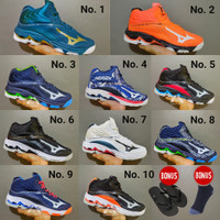 Sepatu Voli Mizuno Wave Lightning z 6 Premium Sepatu Volly wlz 6 z6