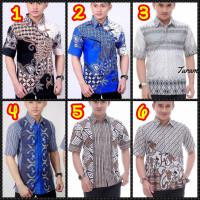 Kemeja Batik pria exclusive - Hem batik - Baju lengan pendek