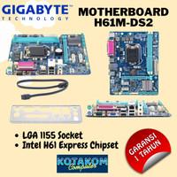 Motherboard GIGABYTE H61m-DS2   LGA1155   1 Tahun Garansi