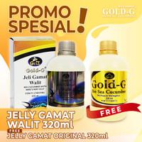 Jelly Jely Gamat Gold G Walit Dengan Ekstrak sarang burung Walet 320ml