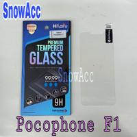 Hikaru Anti Gores Tempered Glass Xiaomi Pocophone F1 Anti Gores Kaca - tempered glass