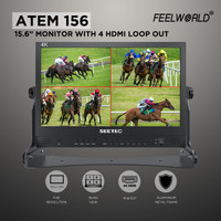 "Feelworld ATEM156 15.6"" Full HD IPS Broadcast Monitor"