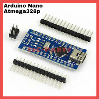 Atmega328P CH340 Arduino Nano V3 Compatible Board Solderless Pin I/O