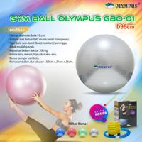 Gym Ball Olympus diameter 95cm free pompa