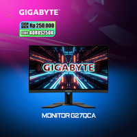 Gigabyte AORUS G27QC A - 27 QHD 165Hz 1ms VA Gaming Monitor