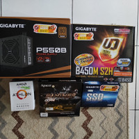 Paket PC Athlon 3000G bukan Ryzen 3200G ato 3400G