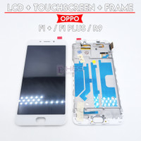 LCD TS OPPO F1 PLUS / F1+ / R9 + TOUCHSCREEN / FULLSET - Putih