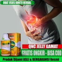 OBAT USUS BUNTU HERBAL ALAMI AMPUH - QNC JELLY GAMAT 100% HERBAL
