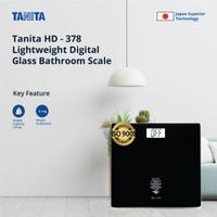 Tanita Timbangan Badan Digital HD-378 - Digital Scale (Black)