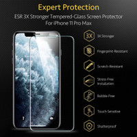ESR Tempered Glass Screen Protector Anti Gores iPhone X Xs Xr XsMax - iPhone XsMax, 1 PACK