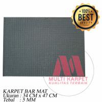 Karpet Karet Bar Mat Spill /Tatakan Gelas 34x47 cm - Besar