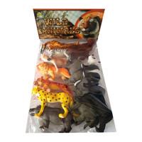Mainan Edukasi Wild Animal Set Binatang Buas 12 Pcs