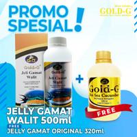 Jelly Jelli Jley Jeli Gamat Gold G Walet 500ml
