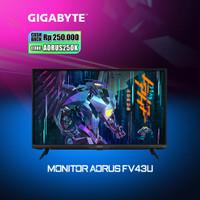 Gigabyte AORUS FV43U - 43 4K 144Hz 1ms Quantum DOT Gaming Monitor