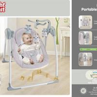 Deluxe Portable Swing Right Start / Ayunan Bayi Elektrik Ayun Otomatis