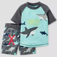 Atasan Renang Anak Laki-Laki Swimsuit/Rashguard C@rters Size 12m-4thn