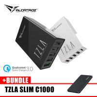 Alcatroz Tzla Ultima QC 4300 Charge Bundle Tzla REAL10000mAh PowerBank