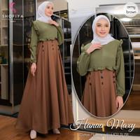 Baju Dress Wanita Hijab Baju Gamis Murah Baju Gamis Wanita Terbaru KZ1