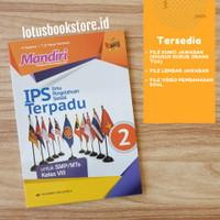 Buku Mandiri IPS Terpadu SMP Kelas 8 Kurikulum 2013 Revisi Erlangga Or