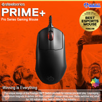 SteelSeries Prime+ Tournament-Ready Pro Series Gaming Mouse