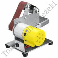 Mini Electric Belt Sander Grinding Machine Mesin Amplas DIY Asah Pisau