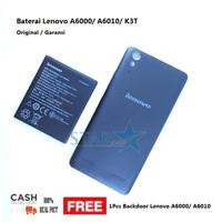 Free Backdoor Lenovo A6000 / A6010 - Baterai Lenovo A6000