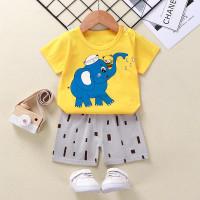 setelan pendek bayi / baju bayi import baju anak baju bayi lucu 0-2thn - GAJAH SIRKUS, 73