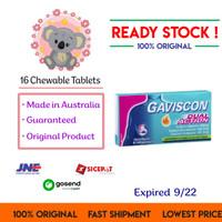 Gaviscon Double Dual Action Obat Maag 16 tablet Ori Aussie
