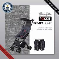 Stroller Cocolatte 8381 Pockit 2S Gen 6 RMD Knit Cabin Size - Grey