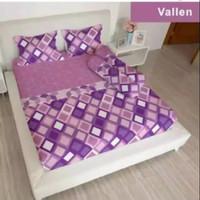 bed cover lady rose sprei karet no2 uk 160x200 motif Vallen