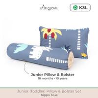 Aurora Baby Toddler Junior Pillow Set, Bantal Guling Set Anak 1-10Thn