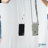 Case Iphone 7 8 Plus XR X XS Max SE 2020 Lanyard Anti Crack Acrylic